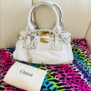 Authentic Chloe Paddington bag NICE!